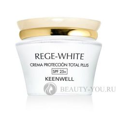 Rege – White Total Plus Protection Cream (SPF 25+) - Защитный крем Тотал Плюс (СЗФ 25+) (KEENWELL)