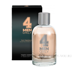 ТУАЛЕТНАЯ ВОДА 4MEN ONLY EAU DE TOILETTE 4MEN ONLY  Inspira: сosmetics (Инспира косметикс) 1000