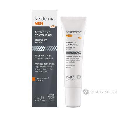 Гель для век MEN Eye contour gel, 15 мл СЕСДЕРМА (SESDERMA) 40005494